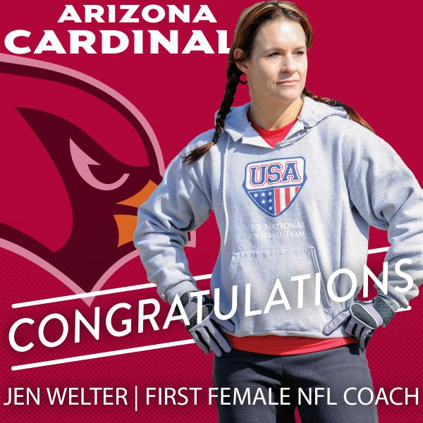 Jen Welter (Array)