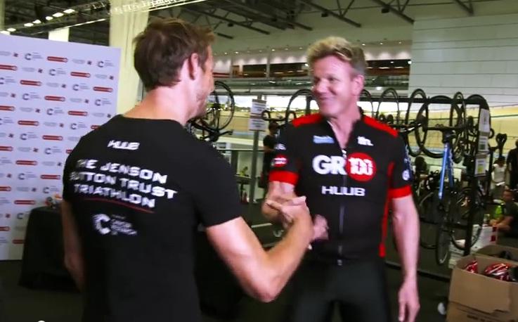 Jenson Button Gordon Ramsay (Array)