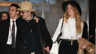Johhny Depp és Amber Heard (Array)