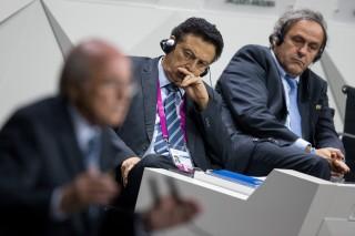 Joseph Blatter, Michel Platini (Array)