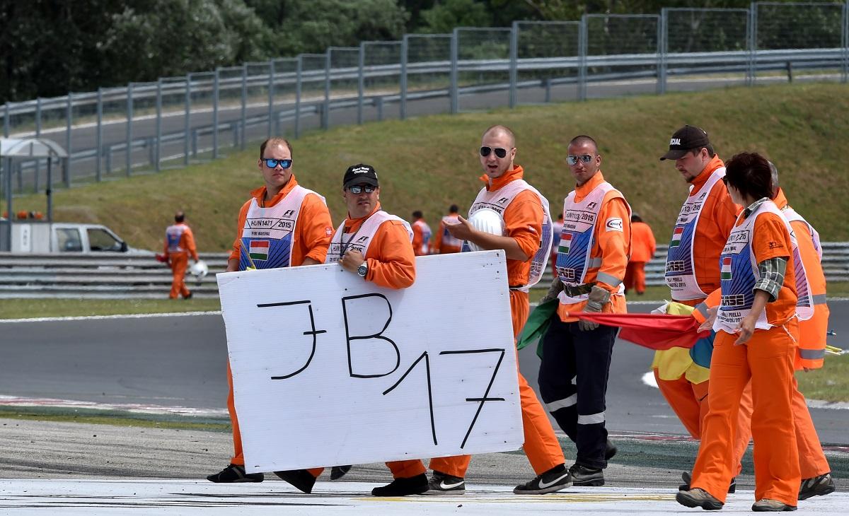 Jules Bianchi megemlékezés (Array)