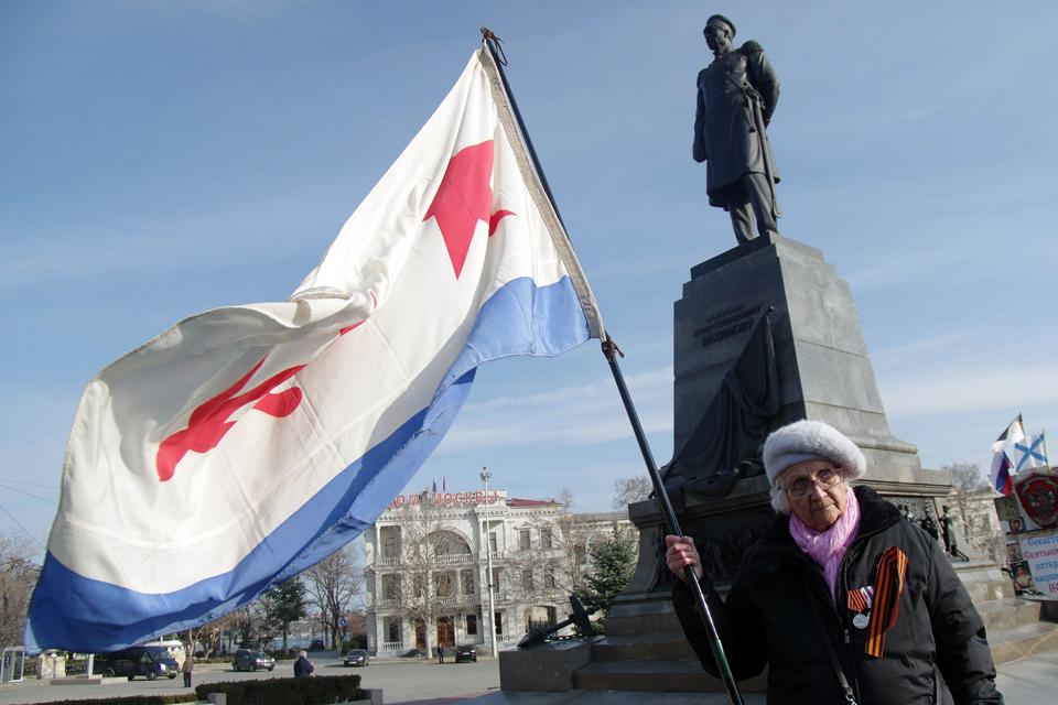 Krím zászló Ororszország (Array)