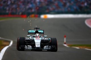Lewis Hamilton, Silverstone (Array)