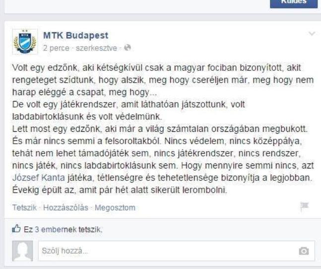 MTK Facebook (Array)
