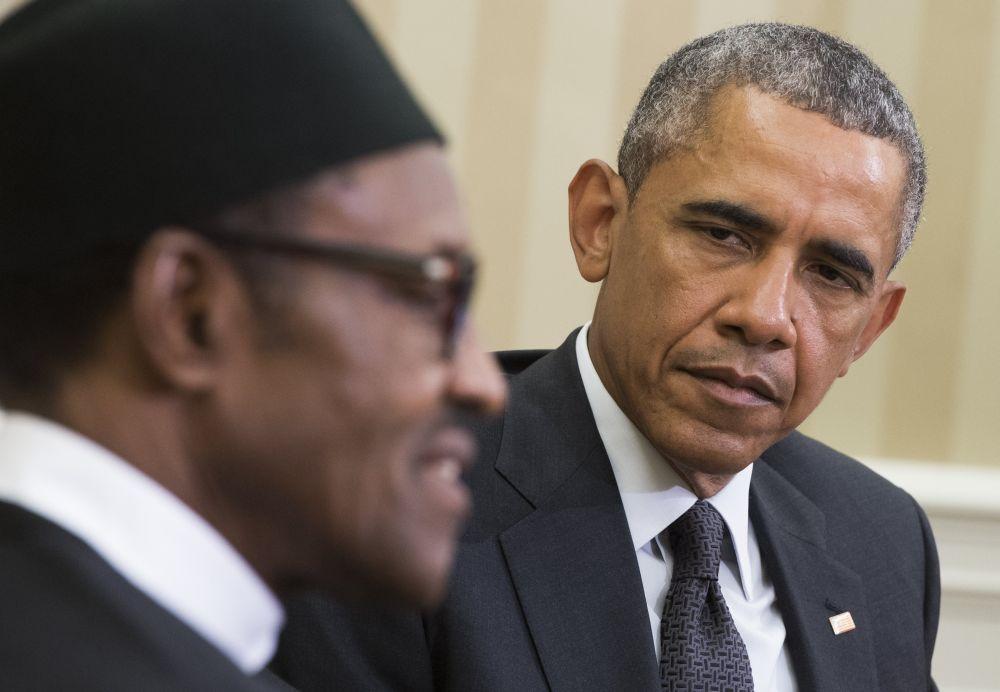 Obama és Buhari (Array)