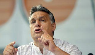 Orbán Viktor Tusnádfürdőn (Array)