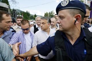 Orbán Viktor, Tusványos, beszéd (Array)