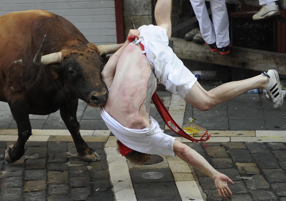Pamplonai bikafuttatás (Array)