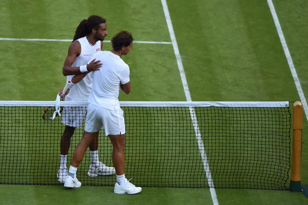 Rafael Nadal, Dustin Brown (Array)