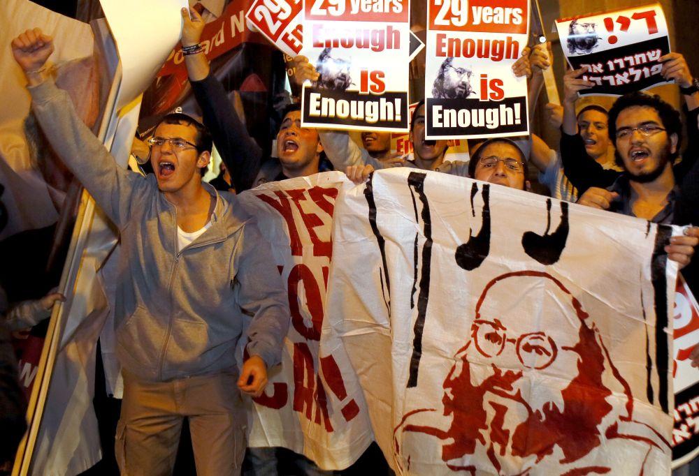 Tüntetés Jonathan Pollardért (Array)