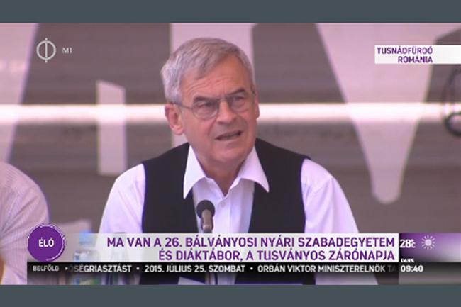 Tusnádfürdő, Tőkés László (Array)