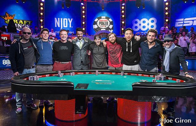 WSOP 2015 November Nine (Array)