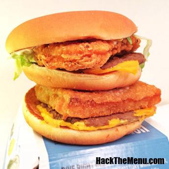 föld-víz-levegő burger (Array)
