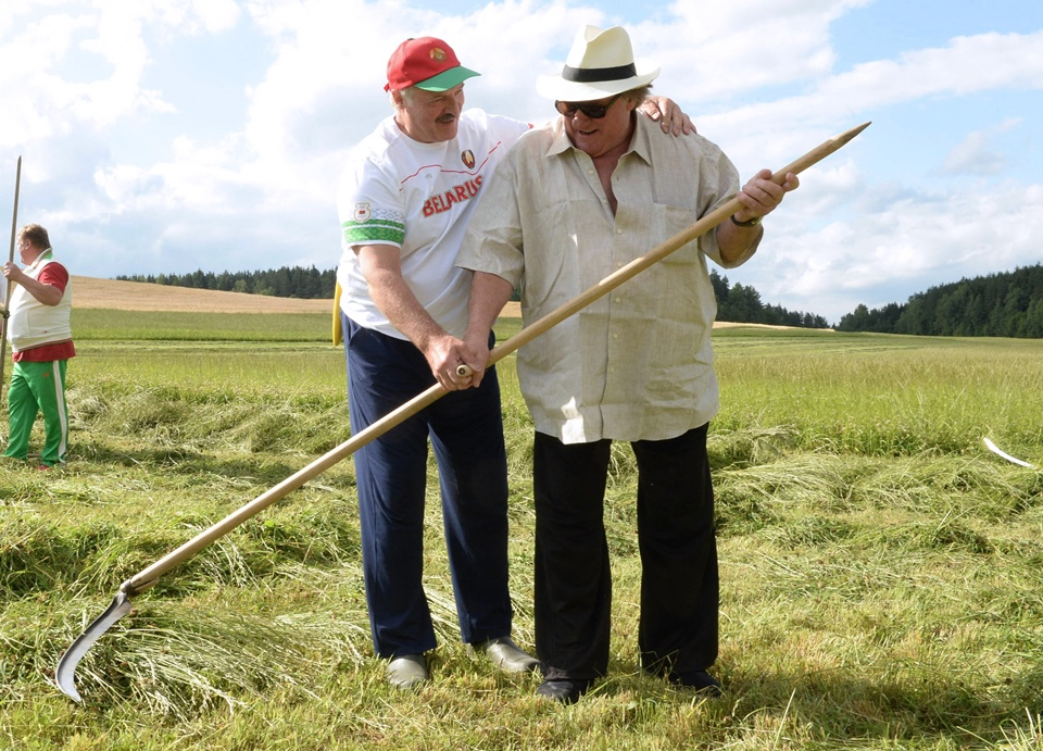 gerard depardieu, aljakszandr lukasenka (Array)