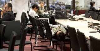 görög csúcs alvó újságírók (Array)