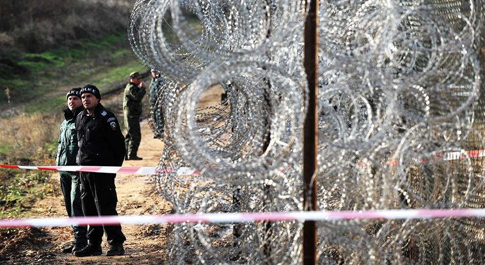 határzár, bulgária, határ (Array)
