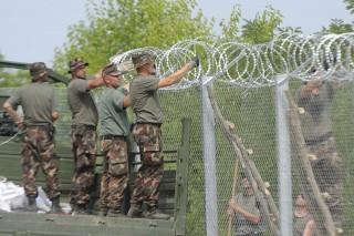 határzár, kerítés (Array)