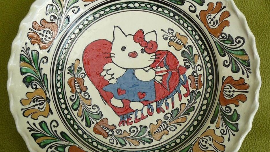 hello kitty tányér (Array)