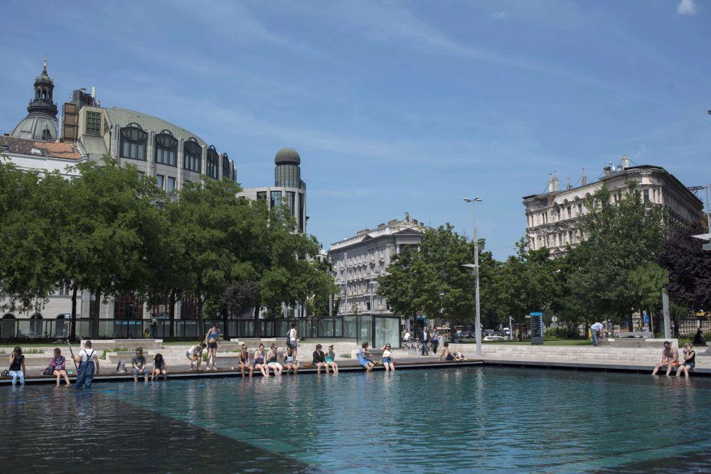hőség budapesten (Array)