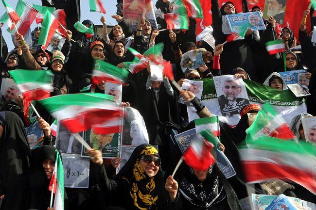 iráni zászló (Array)