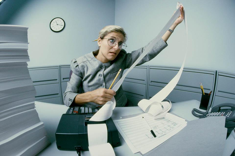 iroda, dolgozó, állás, munka (Array)