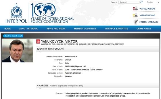 janukovics interpol (Array)
