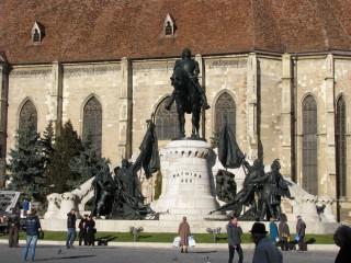 kolozsvár mátyás szobor (Array)