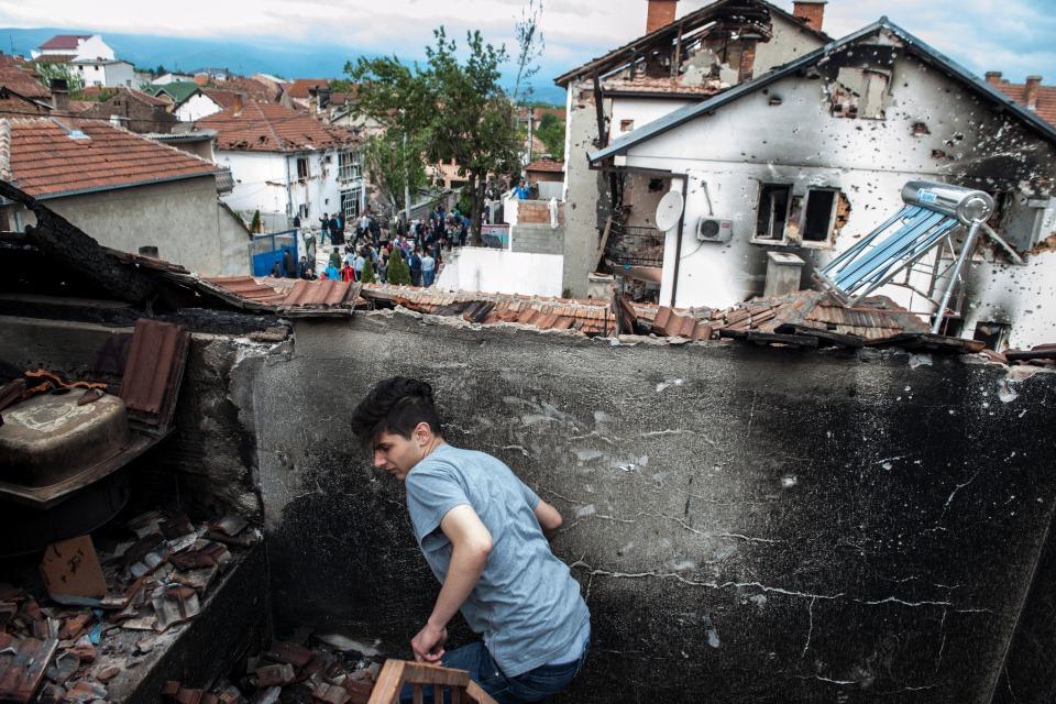 macedónia összecsapások (Array)