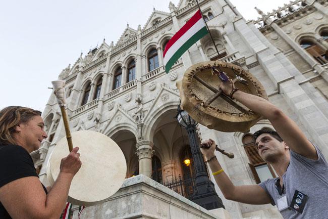 magyar zászló, Parlament (Array)