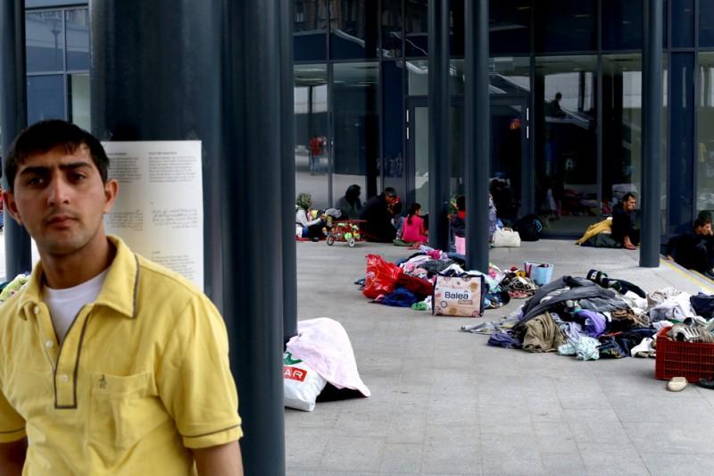menekült, Keleti pályaudvar 02 (Array)