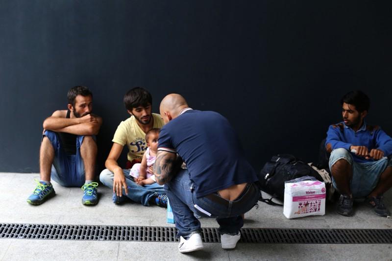 menekült, Keleti pályaudvar 05 (Array)