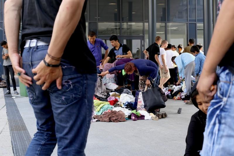 menekült, Keleti pályaudvar 09 (Array)