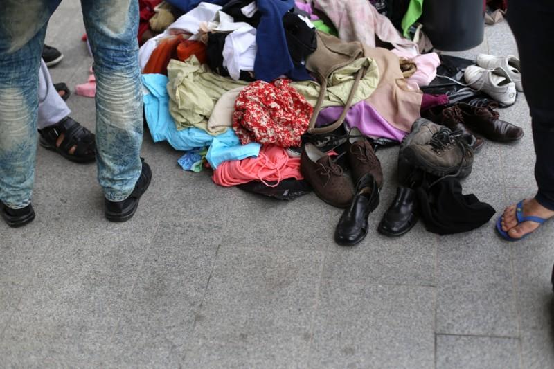 menekült, Keleti pályaudvar 10 (Array)