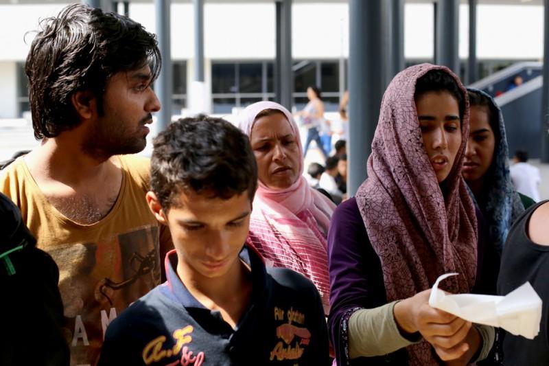 menekült, Keleti pályaudvar 14 (Array)