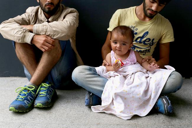menekültek, Keleti pályaudvar (Array)