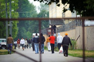 menekültek debrecenben (Array)