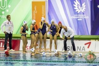 női vízilabda válogatott, Universiade (Array)