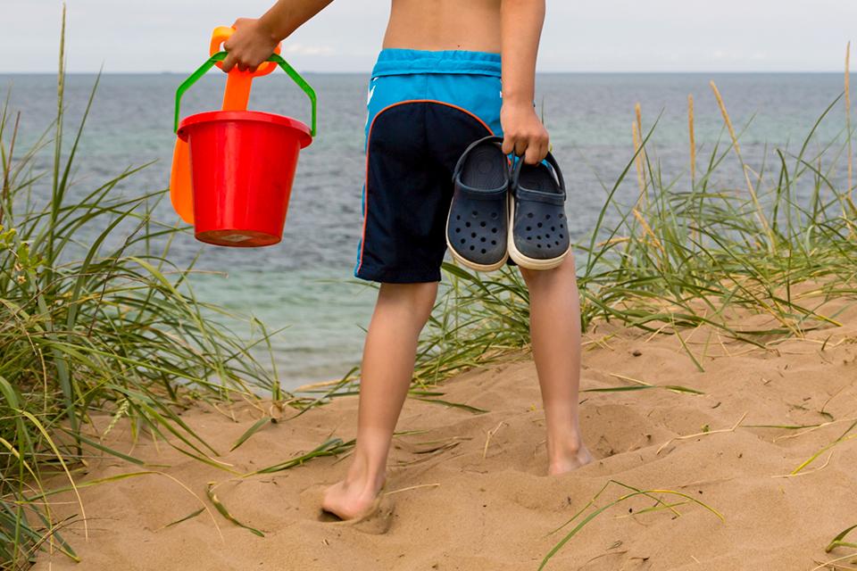 papucs, nyár, strand (Array)