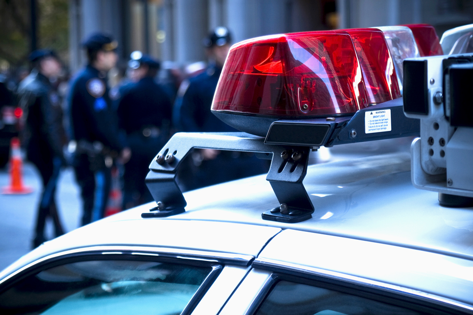 rendőrautó, bűnügy (Array)