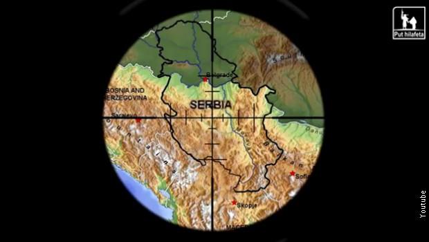 szerbia fenyegetés (Array)