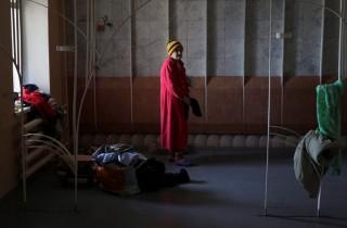 ukrán menekült (Array)