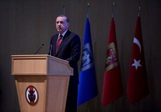 Erdogan bejelent (Array)