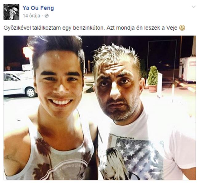 Győzike és Ya Ou Feng (Array)