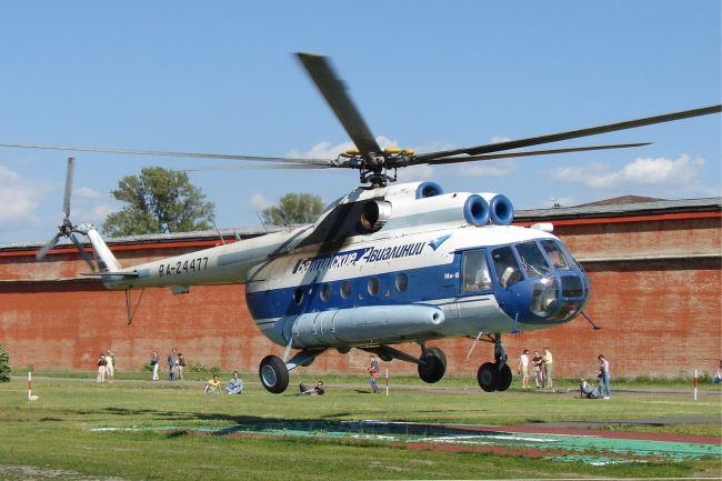 Mi-8 helikopter (Array)