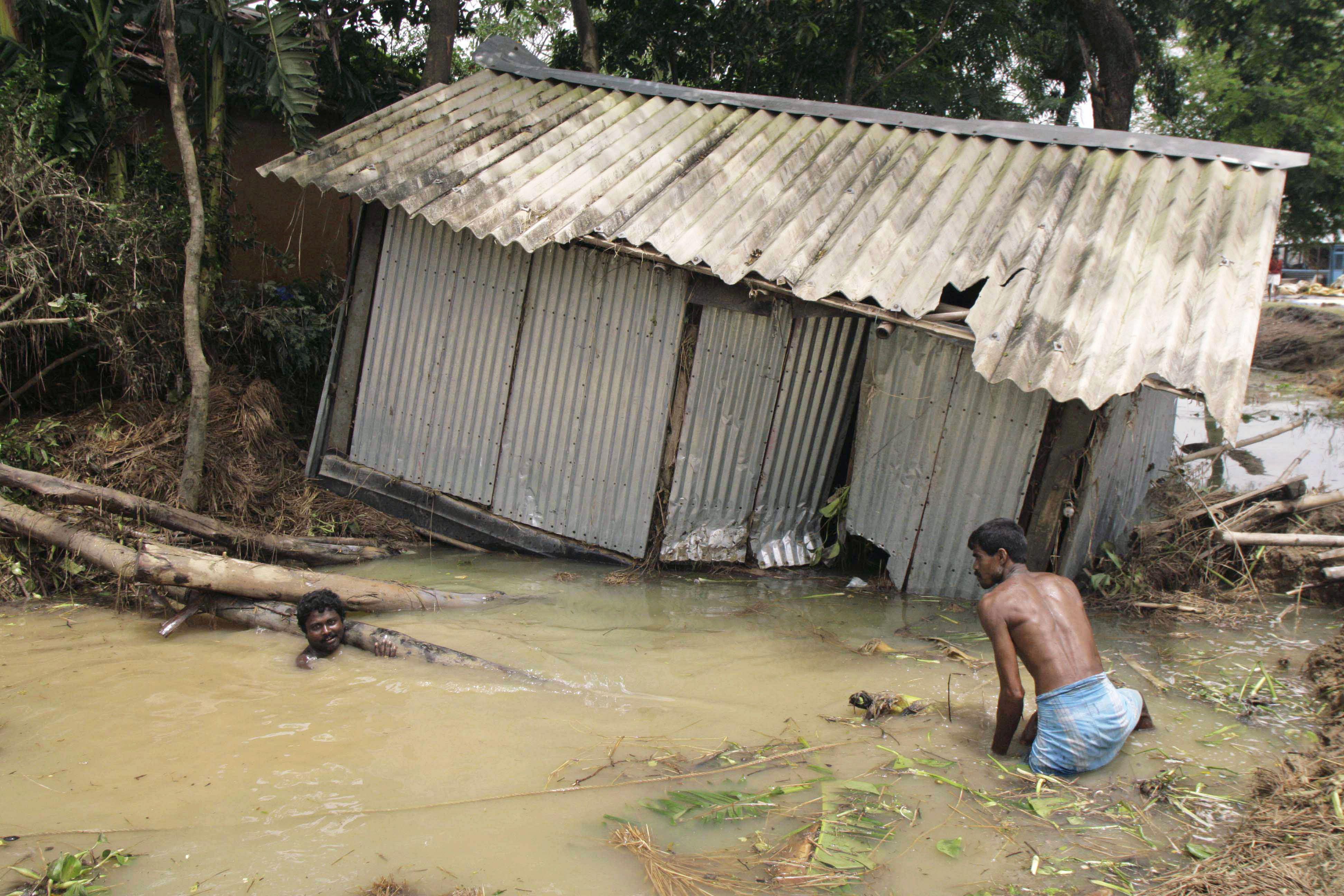 Monszun Indiában (Array)