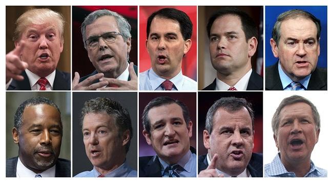 Republikánus jelöltek (Array)