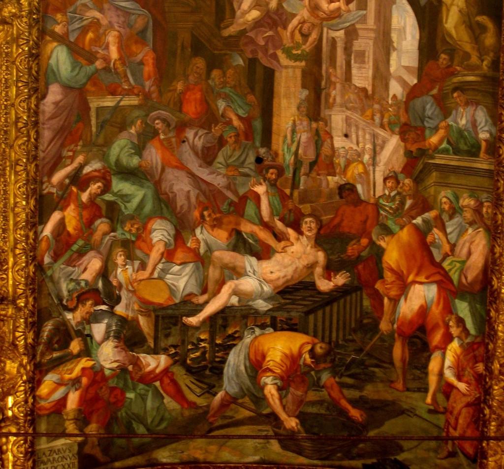 Szent Lőrinc vértanúsága (Array)