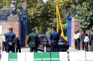 Teheráni brit nagykövetség (Array)