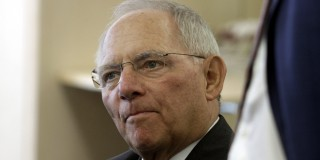 Wolfgang Schäuble. (Array)