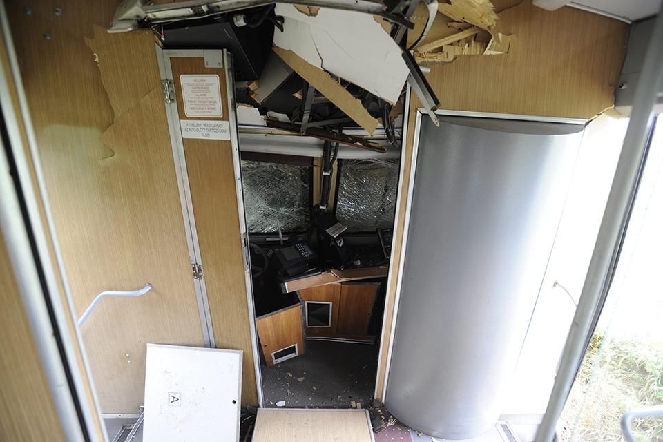 baleset, Máv, Aszód-Balassagyarmat (Array)